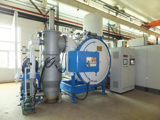 VACCUM INDUCTION MELTING FURNACE. SENTERING FURNA